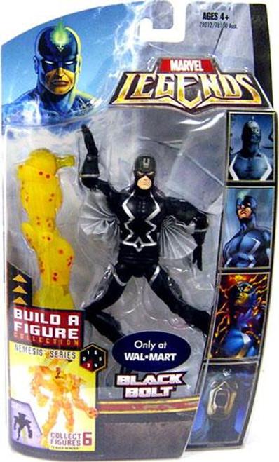 Marvel Legends Nemesis Build a Figure Black Bolt Exclusive Action Figure