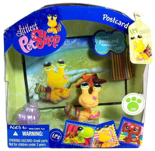 Littlest Pet Shop Postcard Pets Series 2 Hermit Crab Figure