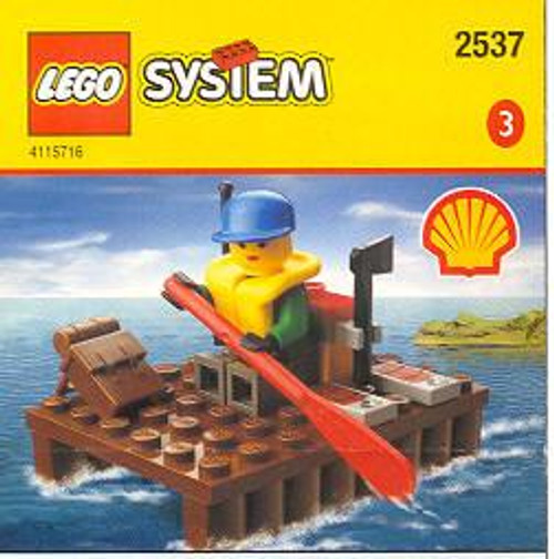 LEGO System Woman River Rafter Exclusive Set #2537