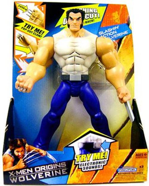 X-Men Origins Wolverine Wolverine Action Figure [Slashin' Electronic]