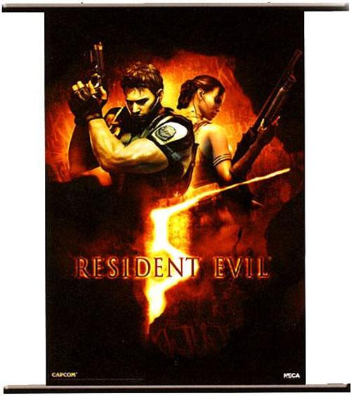 NECA Resident Evil 5 Wall Scroll [Box Art]