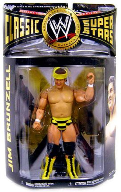 WWE Wrestling Classic Superstars Series 24 Jim Brunzell Action Figure