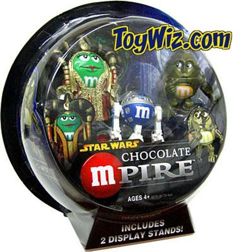 Star Wars M&Ms Chocolate Mpire Amidala & C-3PO w/ R2-D2 Action Figure 2-Pack