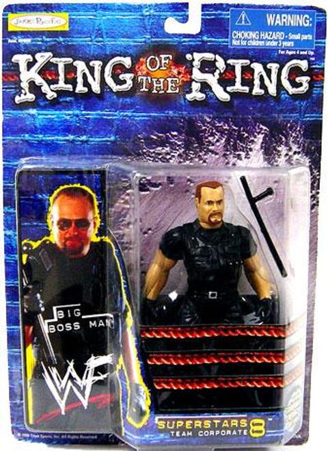WWE Wrestling WWF King of the Ring Superstars Big Boss Man Action Figure