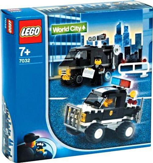 LEGO World City Police 4WD & Undercover Van Set #7032