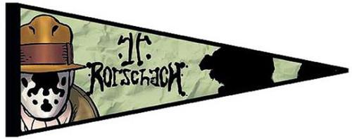 NECA Watchmen Rorschach Pennant 30-Inch