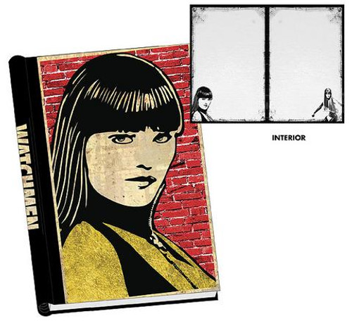 NECA Watchmen Silk Spectre Hard Cover Journal
