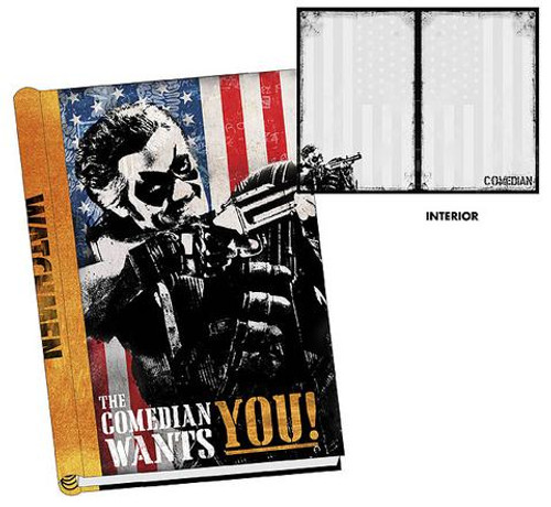 NECA Watchmen The Comedian Hard Cover Journal