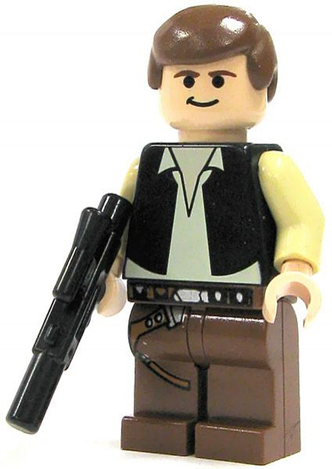 LEGO Star Wars Loose Han Solo Minifigure [A New Hope Loose]