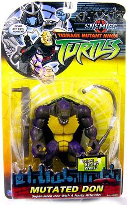 Teenage Mutant Ninja Turtles 2003 Enemies Mutated Don Action Figure
