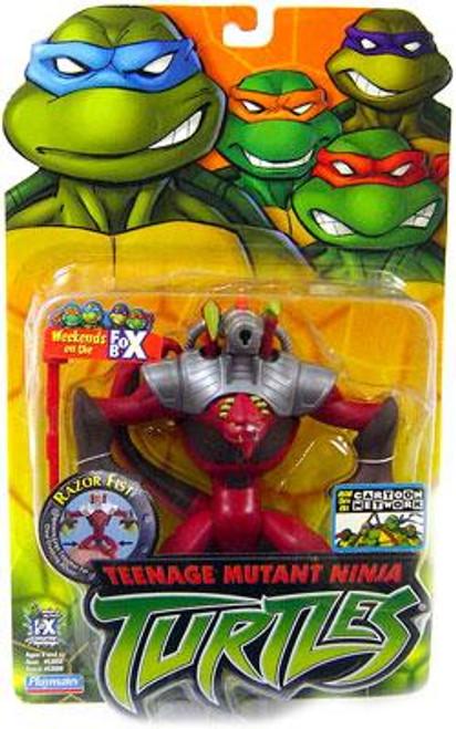 Teenage Mutant Ninja Turtles 2003 Razor Fist Action Figure