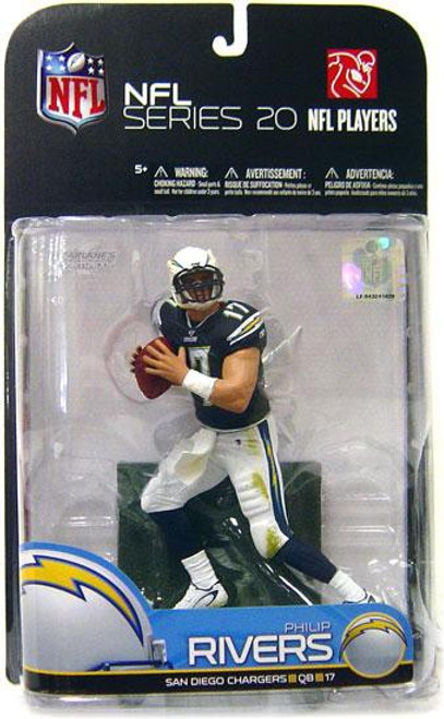McFarlane Toys NFL San Diego Chargers Sports Picks Series 20 Phillip Rivers Action Figure [Blue Jersey]