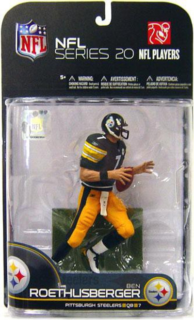 McFarlane Toys NFL Pittsburgh Steelers Sports Picks Series 20 Ben Roethlisberger Action Figure
