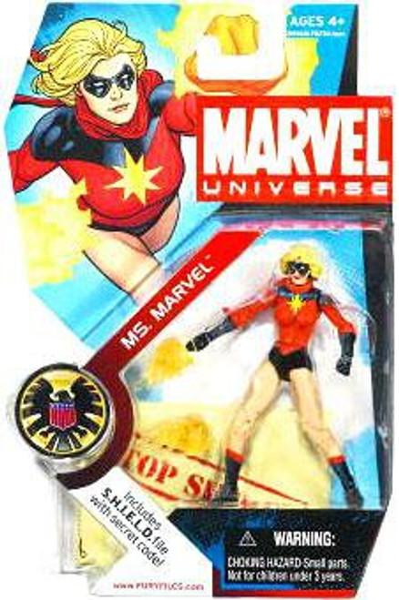 Marvel Universe Series 3 Ms. Marvel Action Figure #23 [Carol Danvers]