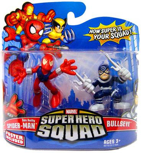 "Marvel Super Hero Squad Series 13 ""Ben Reilly"" Spider-Man & Bullseye Action Figure 2-Pack"