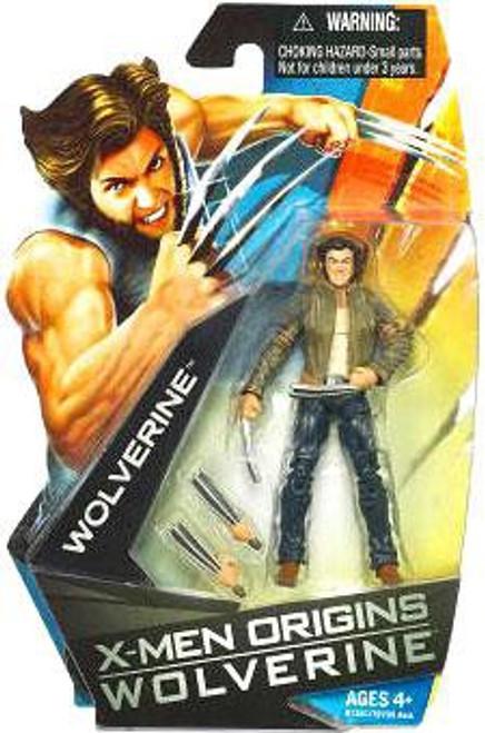 X-Men Origins Wolverine Movie Series Wolverine Action Figure [Jacket]