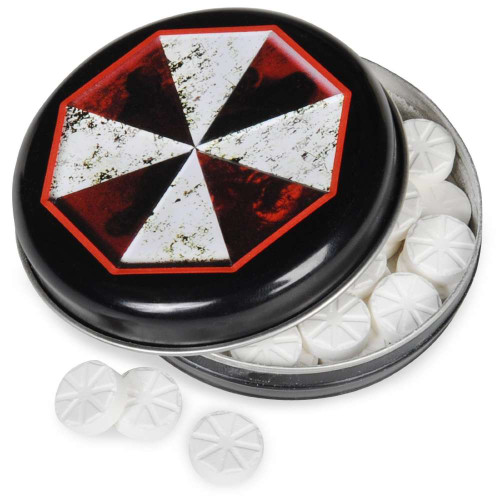Resident Evil Umbrella Corporation Outbreak Mints Candy Tin