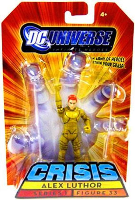 DC Universe Crisis Infinite Heroes Series 1 Alex Luthor Action Figure #33