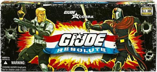 Resolute GI Joe vs. Cobra Action Figure 5-Pack