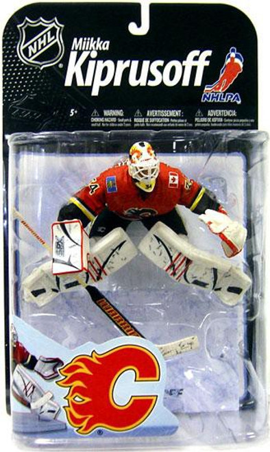 McFarlane Toys NHL Calgary Flames Sports Picks Series 22 Miikka Kiprusoff Action Figure [Red Jersey]