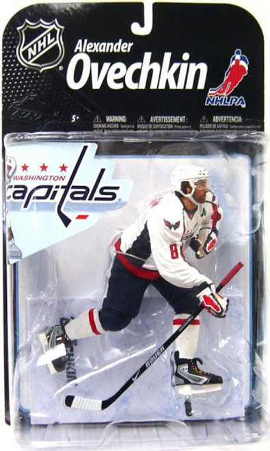 McFarlane Toys NHL Washington Capitals Sports Picks Series 22 Alexander Ovechkin Action Figure [White Jersey]