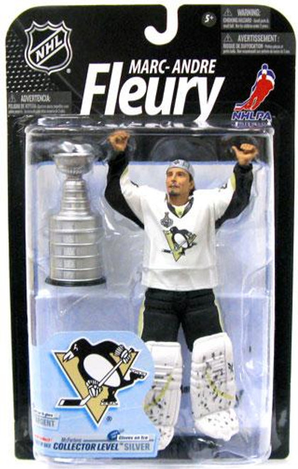 McFarlane Toys NHL Pittsburgh Penguins Sports Picks Series 23 Marc-Andre Fleury Action Figure [No Red Carpet, Damaged Package]
