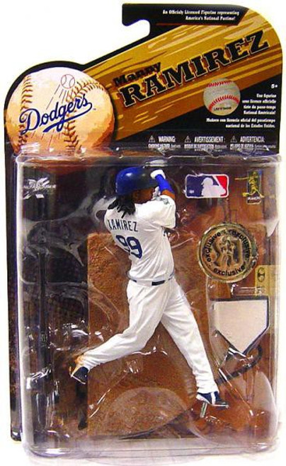 McFarlane Toys MLB Los Angeles Dodgers Sports Picks Series 25 Manny Ramirez Exclusive Action Figure