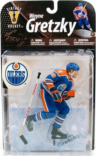 McFarlane Toys NHL Edmonton Oilers Sports Picks Legends Series 8 Wayne Gretzky Action Figure [Blue Jersey]