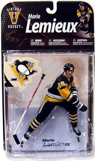 McFarlane Toys NHL Pittsburgh Penguins Sports Picks Legends Series 8 Mario Lemieux Action Figure [Black Jersey]