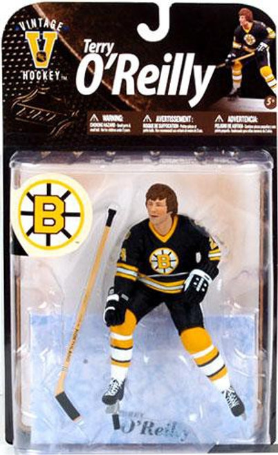 McFarlane Toys NHL Boston Bruins Sports Picks Legends Series 8 Terry O'Reilly Action Figure