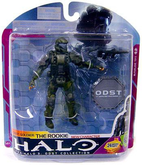 McFarlane Toys Halo 3 Series 6 Medal Edition ODST Soldier The Rookie Action Figure