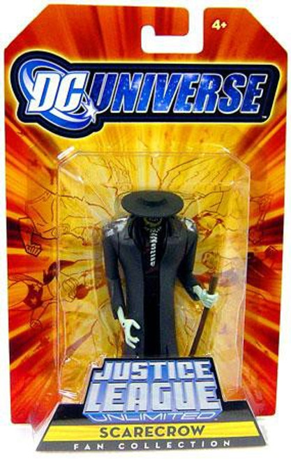 DC Universe Justice League Unlimited Fan Collection Scarecrow Exclusive Action Figure