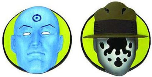 NECA Watchmen Rorschach & Dr. Manhattan Magnets