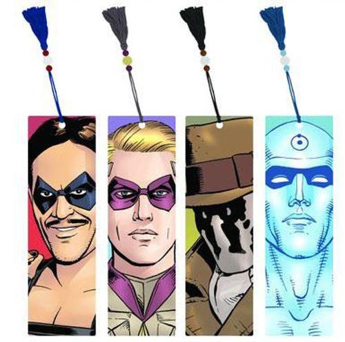 NECA Watchmen Set of 4 Bookmarks
