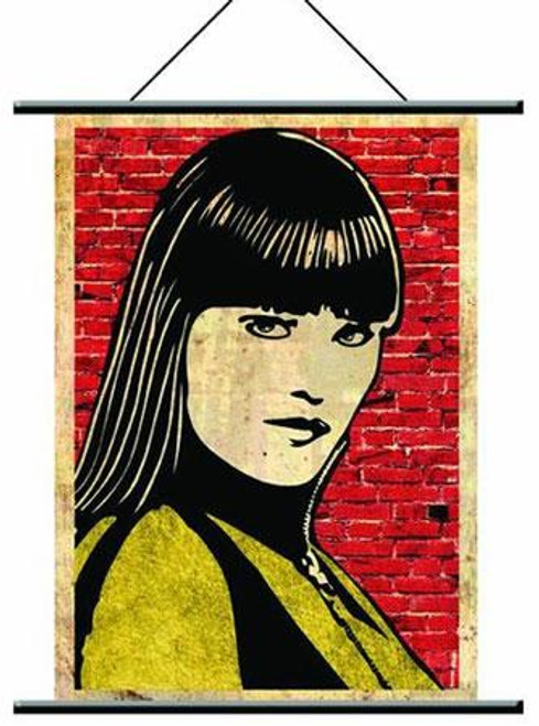 NECA Watchmen Pop Art Silk Spectre Wall Scroll