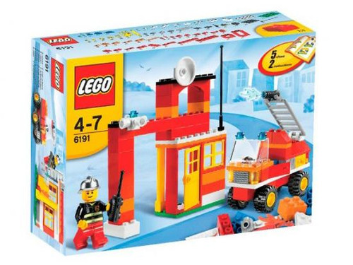 LEGO Fire Fighter Building Set #6191
