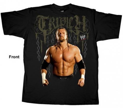 WWE Wrestling Triple H T-Shirt WWY106 [Youth XL]