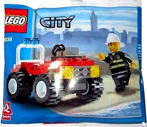 LEGO City Fire 4x4 Set #4938
