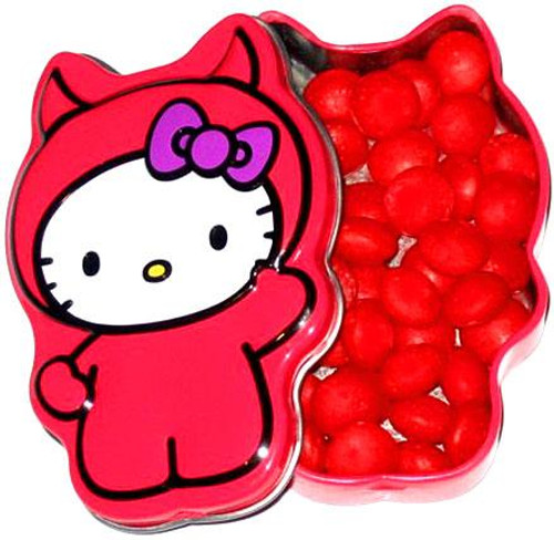 Hello Kitty Lil' Devil Cinnamon Hots Candy Tin