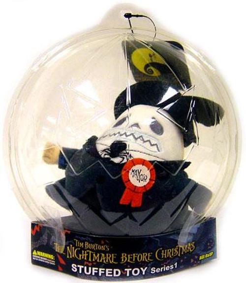 The Nightmare Before Christmas Series 1 Mayor Plush
