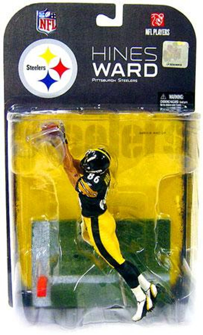 McFarlane Toys NFL Pittsburgh Steelers Sports Picks Exclusive Hines Ward Exclusive Action Figure [Black Jersey]