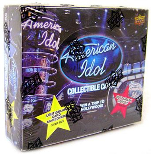 2009 American Idol Trading Card Box