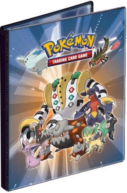 Ultra Pro Pokemon Card Supplies Regigigas & Friends 4-Pocket Binder [Black Trim]