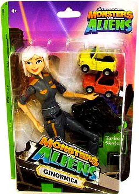 Monsters vs. Aliens Ginormica Action Figure
