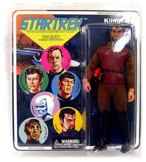 Star Trek The Original Series Cloth Retro Series 1 Klingon Action Figure [Damaged Package]