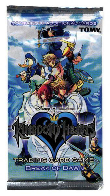 Disney Kingdom Hearts Break of Dawn Booster Pack