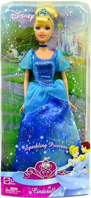 Disney Princess Sparkling Princess Cinderella 12-Inch Doll