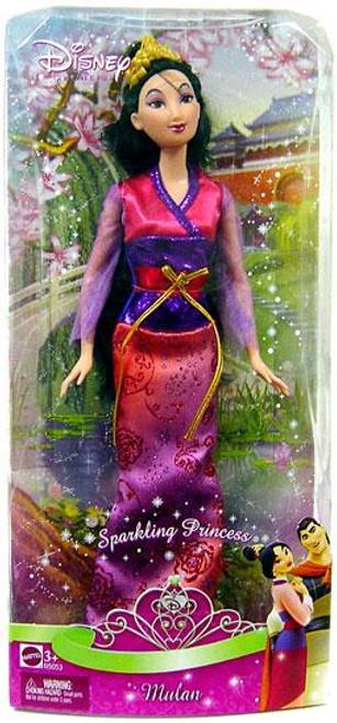 Disney Princess Sparkling Princess Mulan 12-Inch Doll