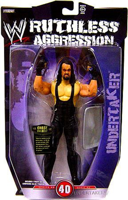 WWE Wrestling Ruthless Aggression Series 40 Undertaker Action Figure