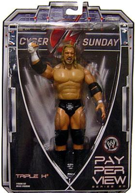 WWE Wrestling Pay Per View Series 20 Cyber Sunday Triple H Action Figure